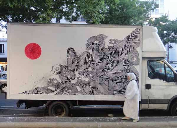 Mobile Graffiti Canvases