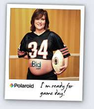 Pregnant Belly Advertising