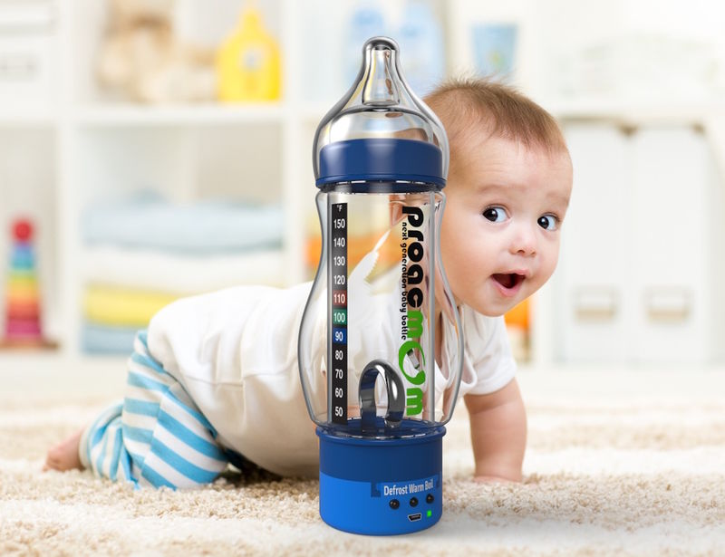 Smart Heating Baby Bottles
