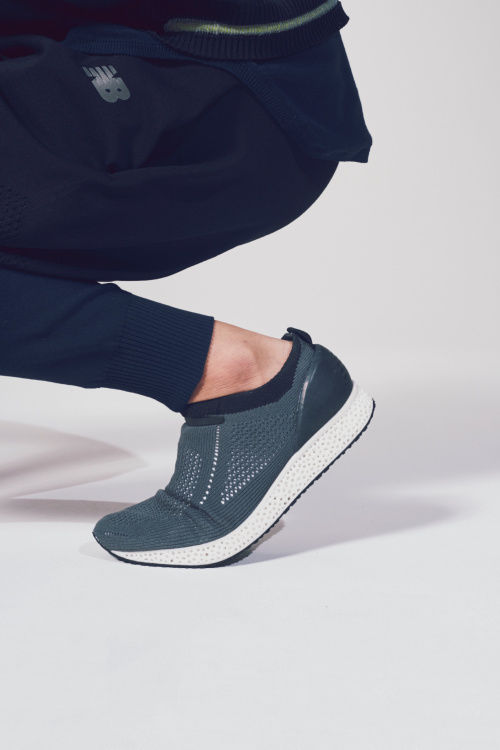 Knitted 3D-Printed Sneakers