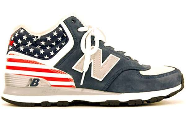 Flag-Waving Street Shoes