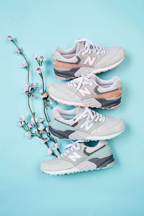Pretty Pastel Sneaker Lookbooks