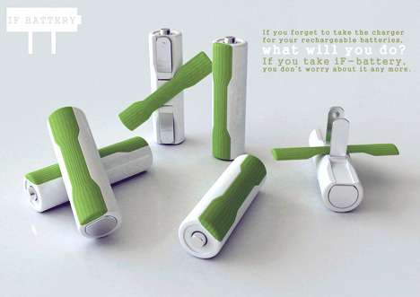 Self Charging Batteries If Battery Features Built In Charger