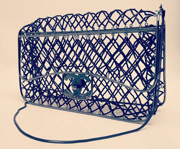 Couture Confined Cage Purses