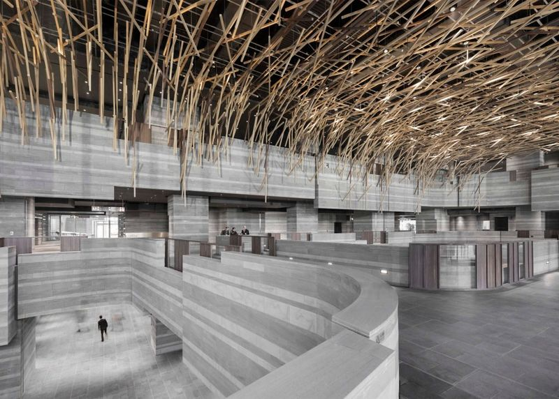 Cavernous Chinese Cultural Centers