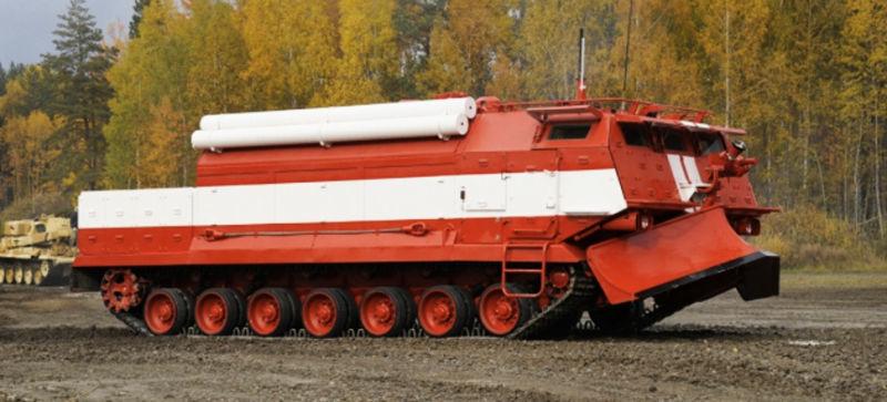 Behemoth Armored Firetrucks