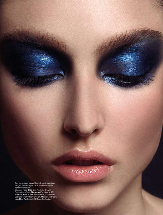 Dynamic Eyeshadow Editorials