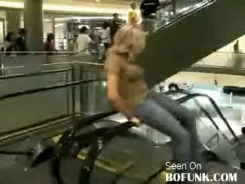 Extremely Weird Mall Exercises