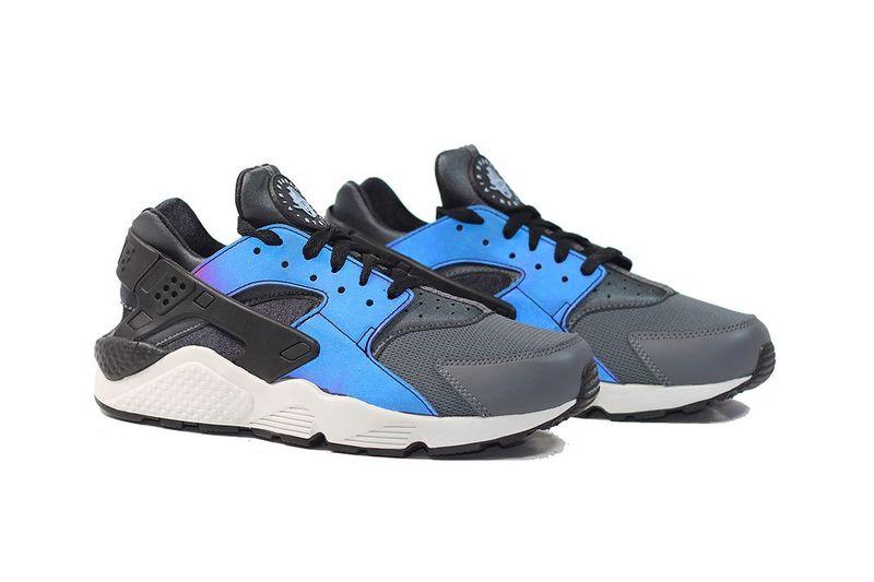 Reworked Iridescent Sneakers