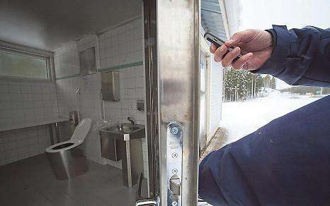 Gotta Pee? SMS The Door- New Public Toilets System in Finland