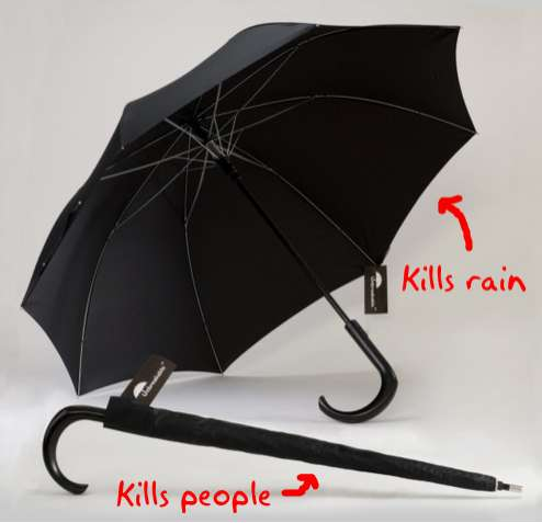 Unbreakable Fighting Umbrellas