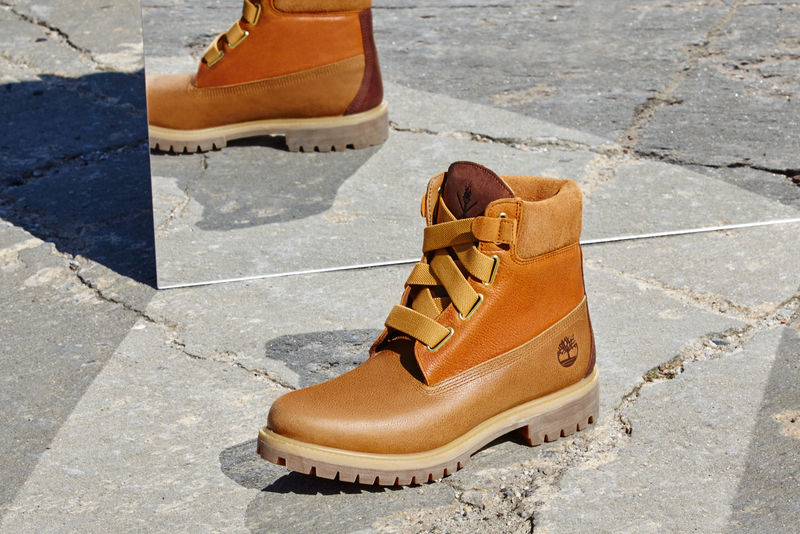 Revitalized Thick-Laced Boots
