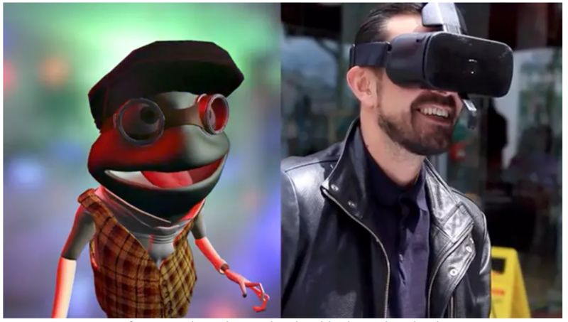 Expressive VR Headsets