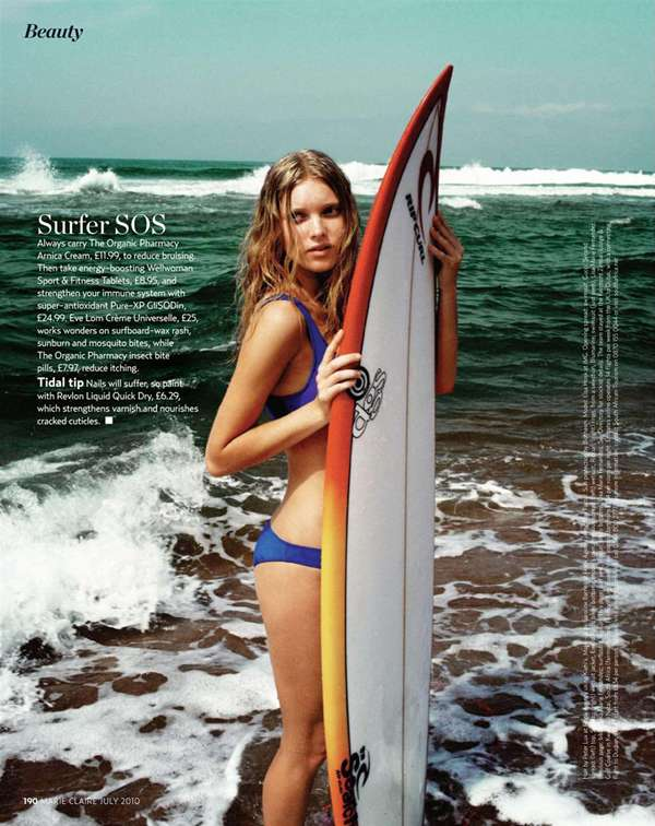 Surfer Girl Editorials
