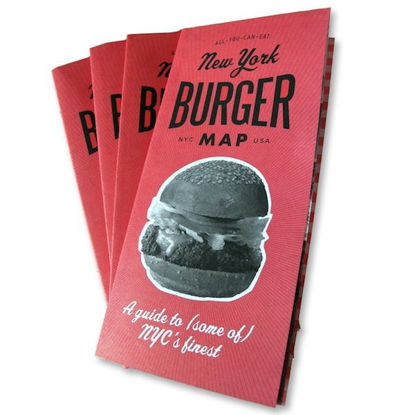 New York Burger Map