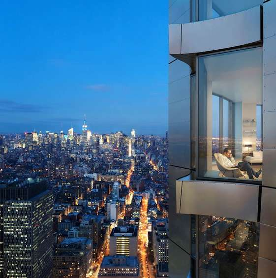 Nyc Classifieds Apartments: Sustainable Urban Skyscrapers : 'New York' By Gehry