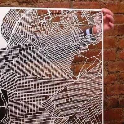 Spiderweb Topography