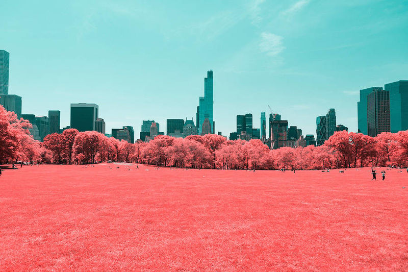 Infrared Skyline Photography