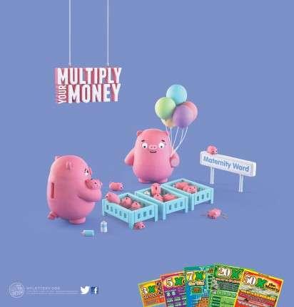 Living Piggy Bank Ads