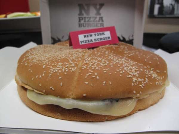 New York Pizza Burger
