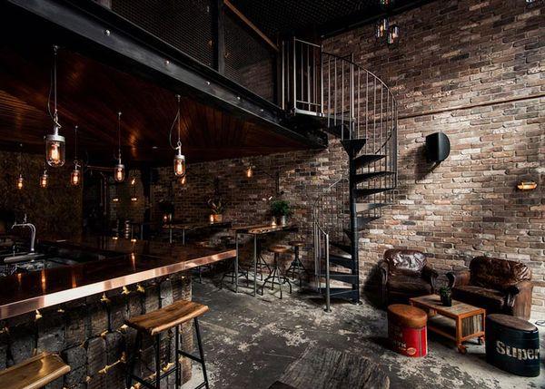 Rustic Atmospheric Bars