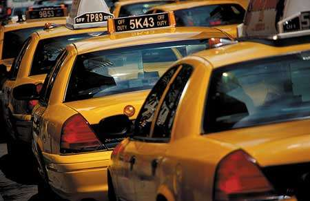 New York Taxis get GPS Tracking and TV