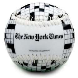 New York Times Crossword Puzzle Baseball