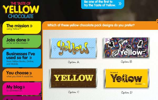 Yellow-Flavored Chocolate