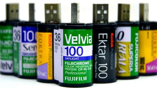 Upcycled Film Canisters