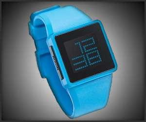 Minimalist Neon Timepieces
