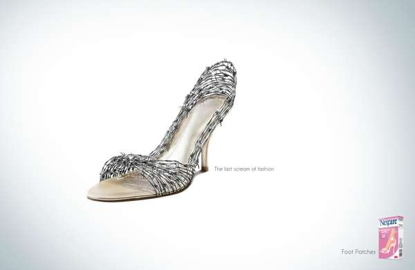 Painful Shoe Aid Ads