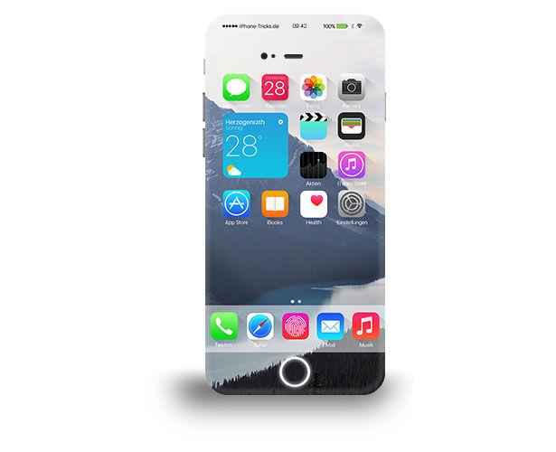 Hidden Button Smartphone Concepts
