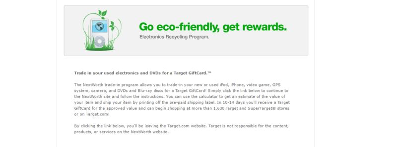 Rewarding Retail Recycling Programs