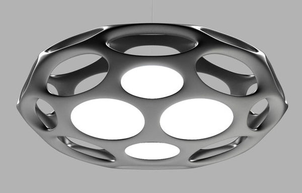 Futuristic LED Light Fixtures