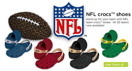 NFL Crocs