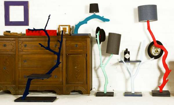 Vibrantly Branching Furniture