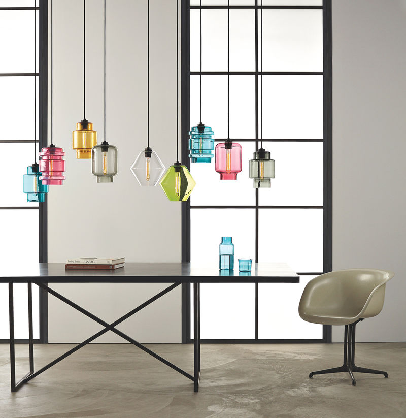 Colorful Glass Lighting