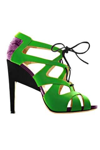 Nifty Neon Stilettos