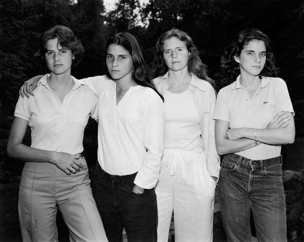 Nicholas Nixon: The Brown Sisters. Thirty-Three Years.