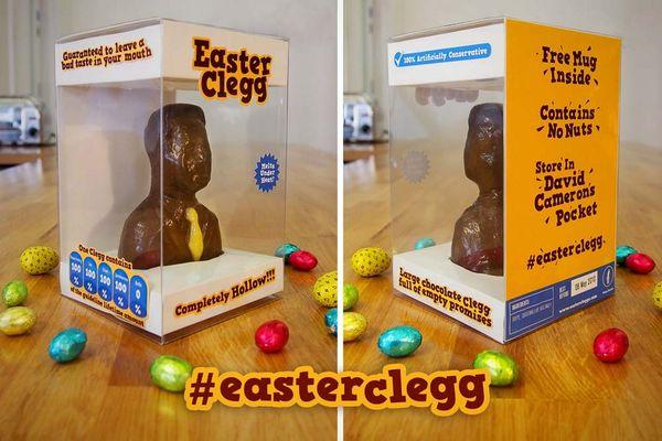 Political Parody Easter Chocolates