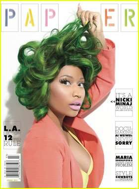 Green-Wigged Diva Shoots