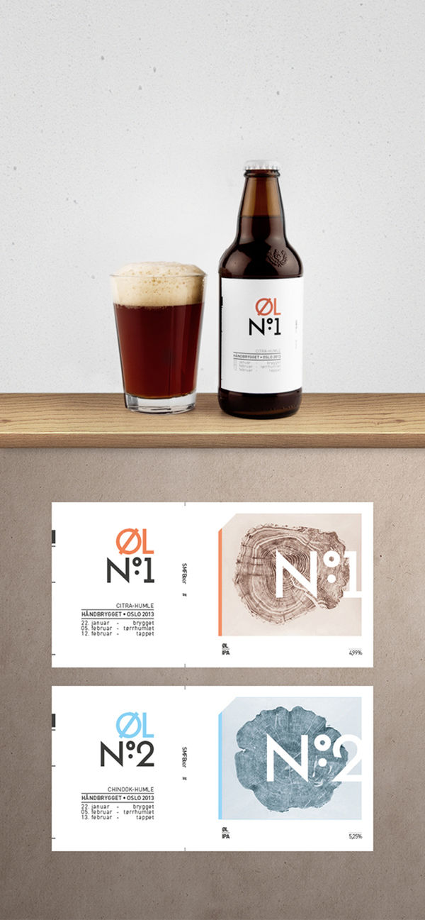 Nature-Inspired Beer Branding