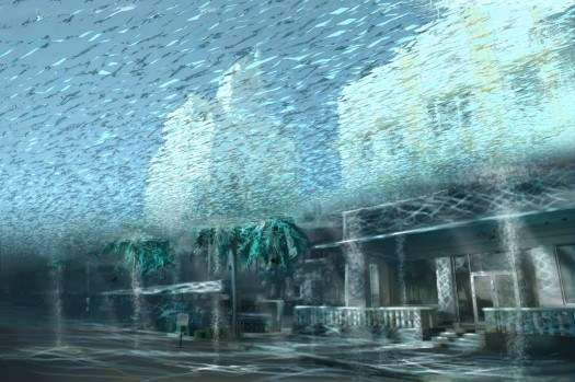 Submerged City Photography