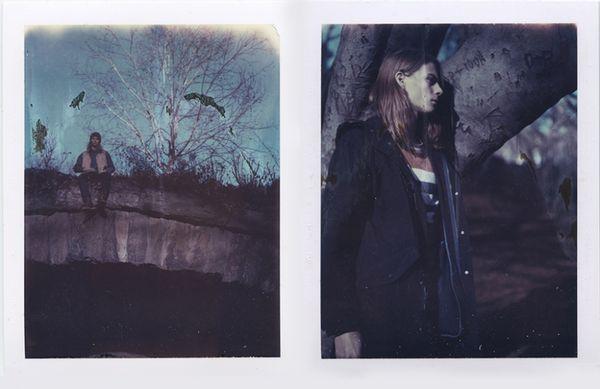 Retro Polaroid Editorials