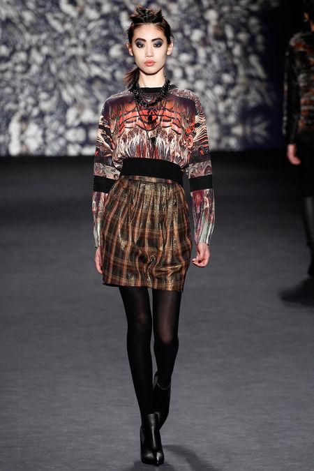 Earthy Warrior-Inspired Womenswear