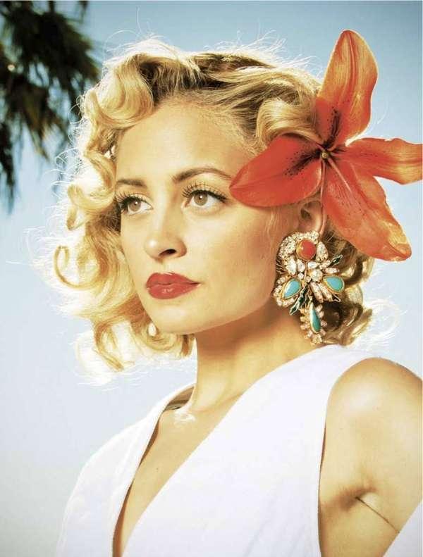 Glam 50s Photoshoots