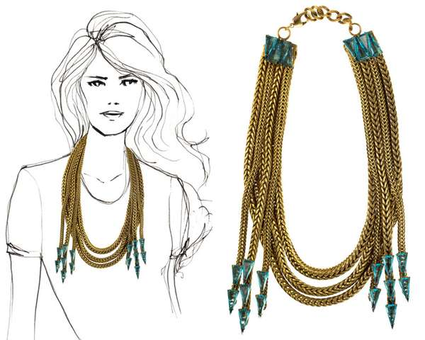 Opulently Spiked Jewelry
