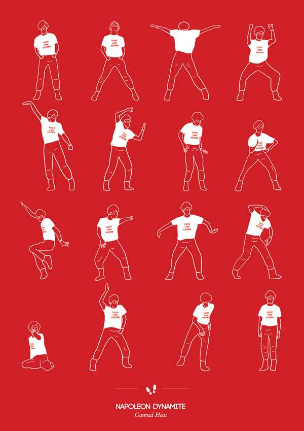 Pop Culture Dancing Posters