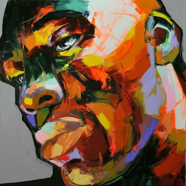 Neon-Rendered Portraiture
