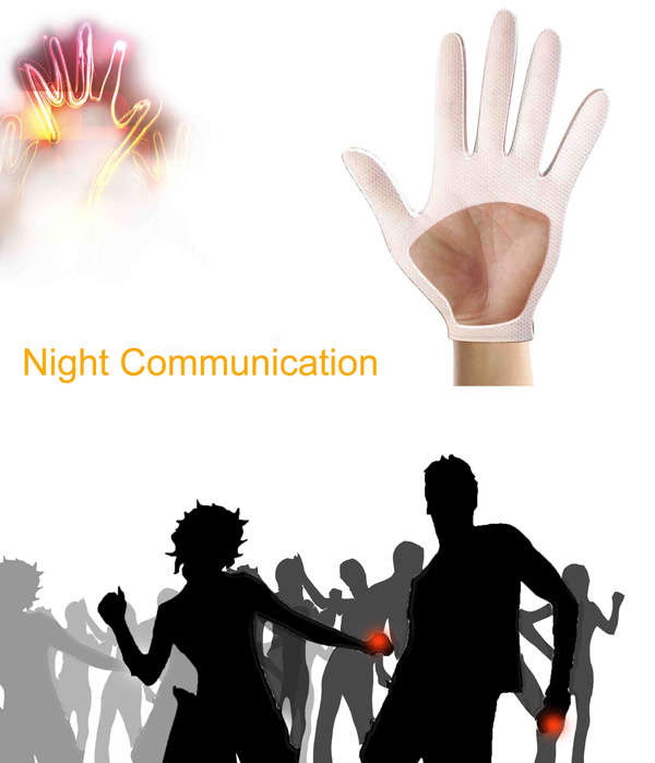 night communication gloves